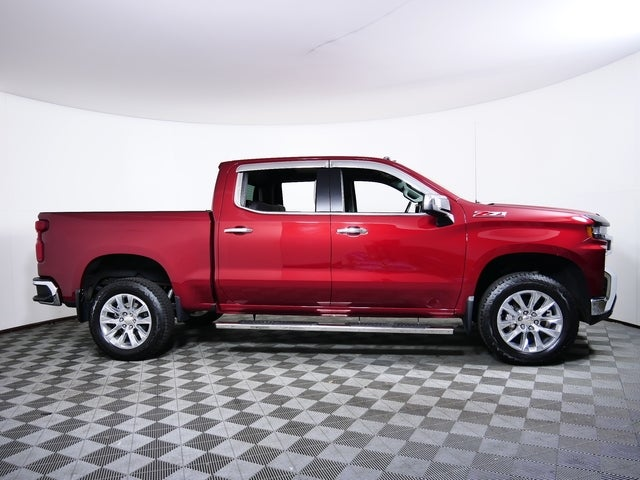 Used 2019 Chevrolet Silverado 1500 LTZ with VIN 1GCUYGED1KZ192137 for sale in Golden Valley, Minnesota