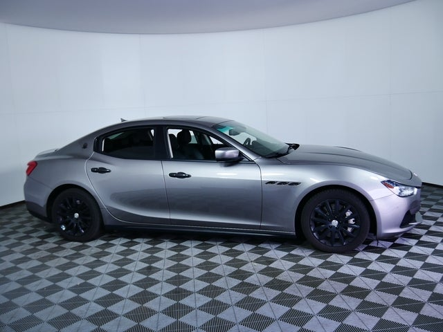 Used 2014 Maserati Ghibli S with VIN ZAM57RTAXE1085873 for sale in Golden Valley, Minnesota